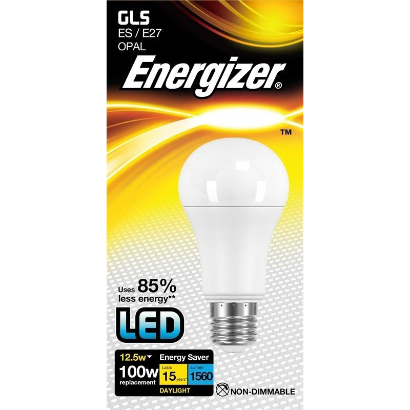energizer led 100w es e27 gls globe energy saving light bulb. Black Bedroom Furniture Sets. Home Design Ideas